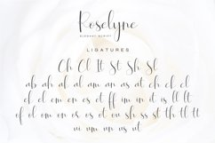 Roselyne Calligraphy Script Font Product Image 9