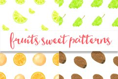 Watercolor sweet fruits Product Image 5
