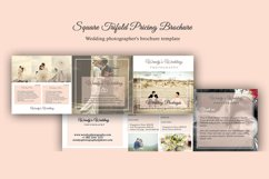 Wedding Trifold Pricing Brochure | 5X5 - Instant Instant dow Product Image 1