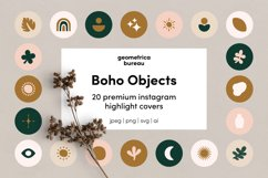 Instagram Highlight Covers Boho Objects Product Image 1
