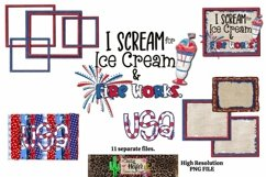 July 4th Dye Sublimation Patriotic Design PNG Bundle Product Image 1