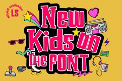 New kids on the Font Product Image 1