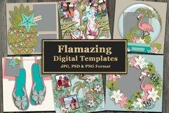 Flamazing Digital Templates Product Image 1