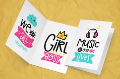 30 Funny Lettering Cards Collection Product Image 5