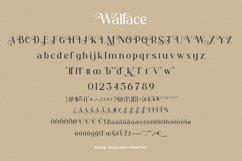 Wallace - Decorative Serif Font Product Image 10
