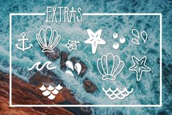 Mermaid Tails a Handwritten Typeface Product Image 3