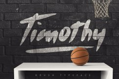 Timothy Brush Typeface Product Image 1