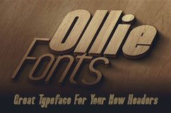 Ollie Typeface Product Image 3
