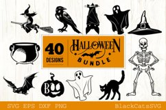 Halloween SVG bundle 40 designs vol 2 Product Image 2