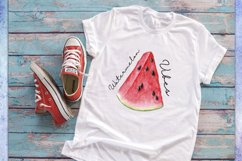 Sublimation design Watermelon Vibes, Summer Print, PNG/JPG Product Image 2