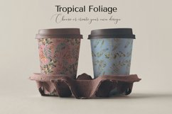 Tropical Foliage Watercolor Set Product Image 3
