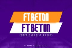 FT Beton Compressed Product Image 1