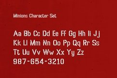 Web Font Minions Product Image 2