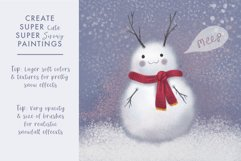 Magical Snow Procreate Brushes Product Image 5