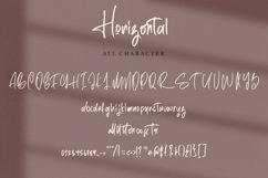 Web Font Horizontal - Signature Script Font Product Image 4