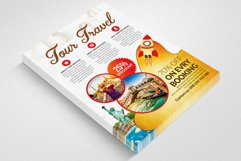 Holiday Tour/Travel Flyer Templates Product Image 3