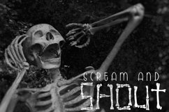 Skeleton Bones - a hand lettered font full of bones Product Image 4