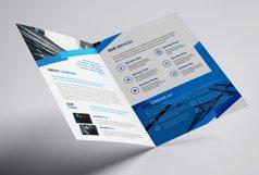 Company Bifold Blue Product Image 4