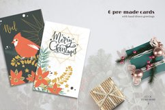 Classic Christmas. Winter clipart set. Product Image 5