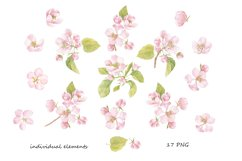 Spring mood. Watercolor & graphic. Product Image 4