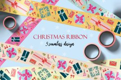 Holiday packing tapes and ribbons/ png. jpeg. eps10. ai Product Image 1