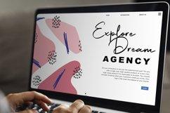 Scott Pilgrim   Handdraw Signature Font Product Image 3