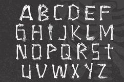 Skeleton Bones - a hand lettered font full of bones Product Image 3