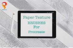 Paper Texture Brushes Procreate Product Image 1