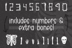 Skeleton Bones - a hand lettered font full of bones Product Image 2