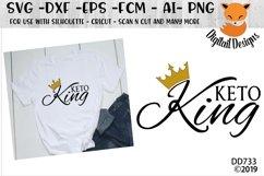 Keto King Keto Diet SVG Product Image 1