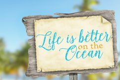 Life Is Better On the Ocean SVG DXF FCM LL036C Product Image 2