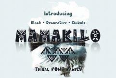 MamaKilo - Tribal Font Family Product Image 1