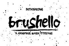 Brushello Typeface Product Image 1