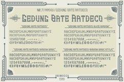 Artdeco family font Product Image 2