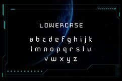 Exo Space Futuristic Display Font Product Image 4