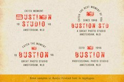 Rustic Printed - Vintage Font Product Image 4