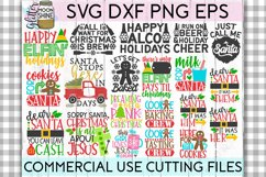 Giant Christmas Bundle of 58 SVG DXF PNG EPS Cutting Files Product Image 3