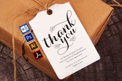 thank you tag, TOS_65 Product Image 1
