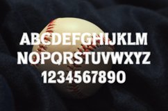 College Stitched Sport Font Product Image 5