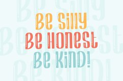 Shiny Kids - Playful Display Font Product Image 3