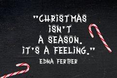 Christmas Font - Christmas Candy Product Image 5