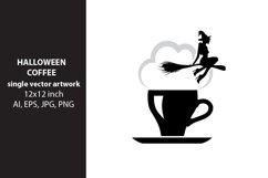 Halloween coffee, VECTOR ARTWORK Product Image 1