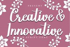 Creative & Innovative | A Script Font Product Image 1