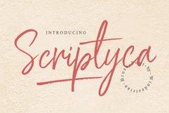Scriptyca | Script Brush Font Product Image 1