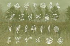 October leaves doodle font Product Image 2