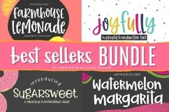 Best Sellers Handwritten Font Bundle for Crafters Product Image 1