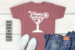 Happy birthday to me - funny birthday shirt SVG cut file Product Image 1