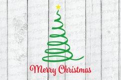 Merry Christmas Ribbon Tree Product Image 4