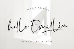 Hello Emillia Script Product Image 1