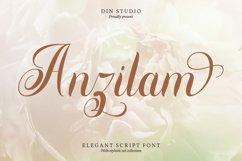 Anzilam-Elegant Calligraphy Font Product Image 1